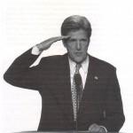 Kerry saluter